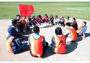 草原拓展训练之小组成员经验分享